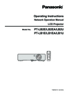 Panasonic LB1EA Manual