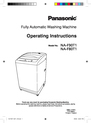 Panasonic NA-F80T1 Operating Instructions