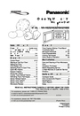 Panasonic H635 Important Safety Instructions