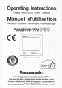 Panasonic Pro P50 Manual