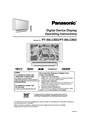 Panasonic PT 60LCX63 Operating Instructions