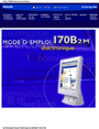 Philips 170B2M User Manual