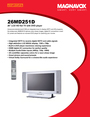 Philips 26MD251D Manual