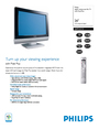 Philips 26PF5321D Manual
