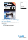 Philips 2CR5 Manual