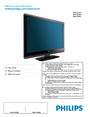 Philips 32PFL3504D User Manual