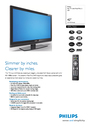 Philips 42PFL7762D Manual