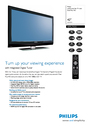 Philips 42PFL7932D Manual