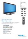 Philips 42PFL7962D Manual