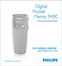 Philips 9400 Instruction Manual