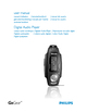 Philips Digital Audio Player Manual