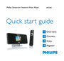 Philips NP2500/37B Quick Start