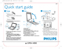 Philips PET824/17B Quick Start