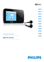 Philips SA6025 Manual