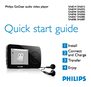 Philips SA6014 Quick Start
