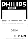 Philips VR778 Manual