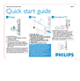 Philips PET831/12 Quick Start