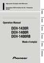 Pioneer DEH-1400R Operation Manual