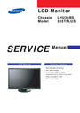 Samsung LHU30BS Service Manual