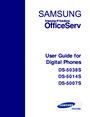 Samsung and DS-5007S Manual