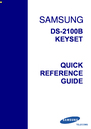 Samsung DS-2100B Manual
