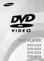 Samsung DVD-S224 Manual