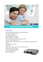 Samsung SH-3000 Manual