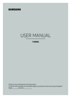Samsung UE65KS7500SXXH Manual
