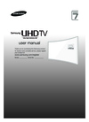 Samsung UE65JU7580TXZG Manual