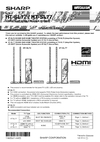 Sharp HT-SL72 Operation Manual