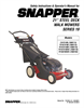 Snapper 2167519B Specifications
