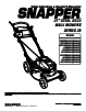 Snapper 2167520B (7800428) Specifications