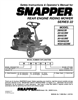 Snapper 300922B, 280922B, 281022BE, W280922B, W301022BE Important Safety Instructions