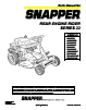 Snapper 301022BE Manual