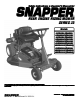 Snapper 3011523BV Specifications