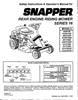 Snapper 301016BE Manual