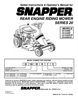 Snapper 301320BE, 281320BE, 3314520BVE, 331520KVE Important Safety Instructions