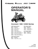 Snapper 400 Series Manual