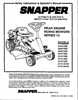 Snapper 421613BVE Manual