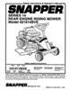 Snapper 421614BVE Manual