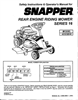 Snapper 421616BVE Manual