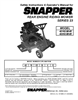Snapper 421823BVE, 422023BVE Important Safety Instructions