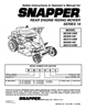 Snapper M280919B, M250819BE, M281019BE, M300919B, M301019BE Important Safety Instructions
