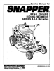 Snapper SERIE 5 Manual
