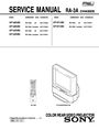 Sony KP 53V85 Service Manual