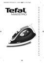 Tefal FV3160C0 Manual