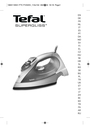 Tefal FV3303C0 Manual
