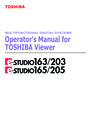 Toshiba 165/205 Manual
