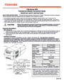 Toshiba 1700 Series Important Safety Instructions