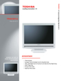 Toshiba 19AV501U Manual